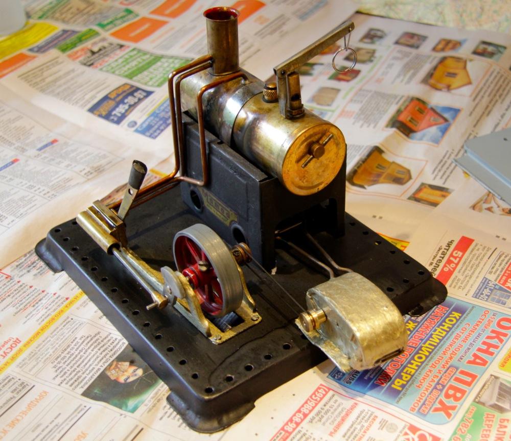 Паровой двигатель генератор своими руками